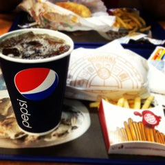 Photo taken at Burger King by Cesar A. on 4/15/2012