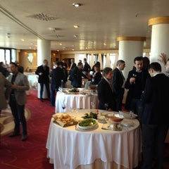 Photo taken at Nicolaus Hotel Conference & Events by Michele D. on 3/28/2012