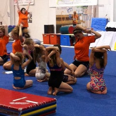 Photo taken at Gymquarters Gymnastics Center by LB P. on 4/5/2012