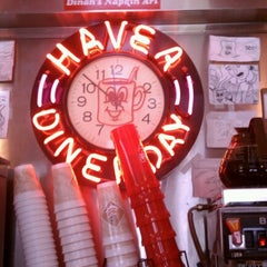 Photo taken at Red Arrow Diner by Corrie T. on 8/14/2012