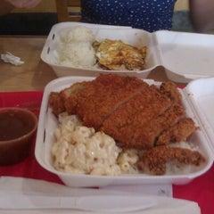 Photo taken at Aloha Eats by Daniel D. on 6/15/2012