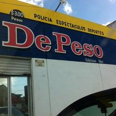Photo taken at Periódico De Peso by Rox H. on 7/26/2012