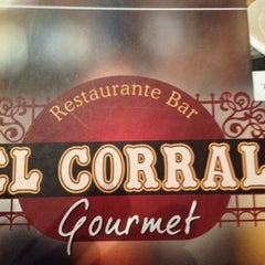 Photo taken at El Corral Gourmet by Pedro R. on 8/25/2012