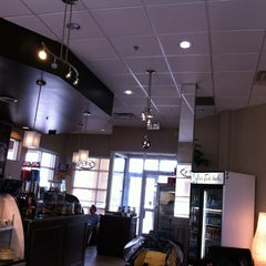 Photo taken at Hawthorne Café by DiscoverMilton.com on 4/16/2012