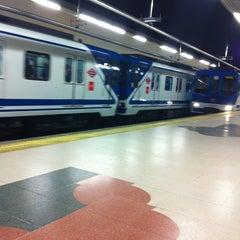 Photo taken at Metro Ciudad Universitaria by Borja R. on 3/23/2012