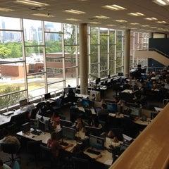 Photo taken at Georgia Tech Library by Jeongseok L. on 3/30/2012