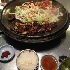 Photo taken at Honey Pig Gooldaegee Korean Grill by Jee S. on 2/25/2012