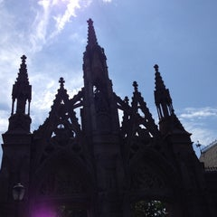 Photo taken at The Green-Wood Cemetery by Tom B. on 8/26/2012