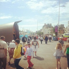 Photo taken at Weymouth Town Centre by Thomas on 8/3/2012