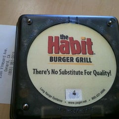 Photo taken at The Habit Burger Grill by Beth W. on 3/19/2012