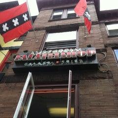 Photo taken at Amsterdam Falafelshop by Amber W. on 6/5/2012