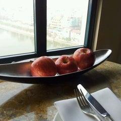 Photo taken at Sheraton Hanoi Hotel by Viet T. on 3/5/2012