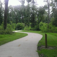 Photo taken at Paul G. Boorman Trail by Stephanie on 7/14/2012