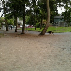 Photo taken at French Lake Off-Leash Dog Park by Erin Marie F. on 6/8/2012