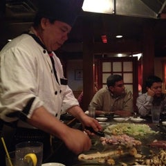 Photo taken at Japanese Village Steak House by Jean Louis I. on 7/12/2012