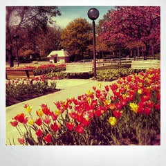 Photo taken at Freimann Square by Tyler K. on 4/8/2012