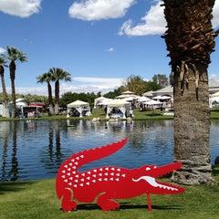 Photo taken at KROQ Coachella House 2012 by angela l. on 4/14/2012