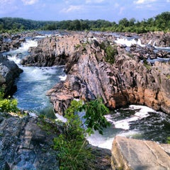 Photo taken at Great Falls National Park by G.Q. . on 8/4/2012