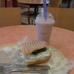 Photo taken at Panera Bread by Amanda G. on 6/12/2012