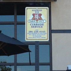 Photo taken at BJ's Restaurant and Brewhouse by Arva C. on 4/17/2012