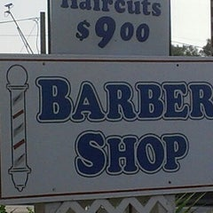 Photo taken at Chet Farley's Barber Shop by Tim L. on 6/15/2012