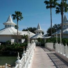 Photo taken at Disney's Wedding Pavilion by Orlando Informer on 2/8/2012