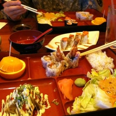 Photo taken at Fuji Yama by Crystal O. on 2/15/2012