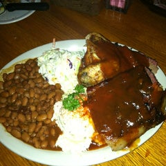 Photo taken at The State Line Bar-B-Q by Susan B. on 6/21/2012