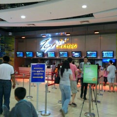 Photo taken at TGV Cinemas by Cempaka B. on 4/22/2012