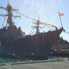 Photo taken at Naval Station San Diego by Kathy N. on 5/28/2012