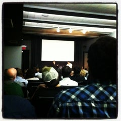 Photo taken at NYU Cantor Film Center by Carmen d. on 4/26/2012