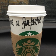 Photo taken at Starbucks by Dolly M. on 3/17/2012