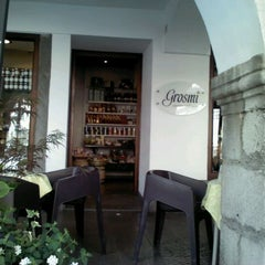 Photo taken at Caffè Grosmi by Federica D. on 5/18/2012