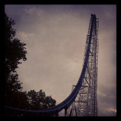 Photo taken at Millennium Force by x Vitalik x on 7/27/2012