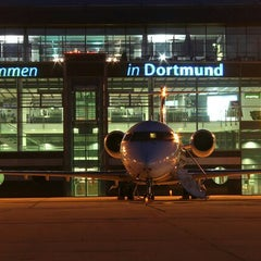 Photo taken at Dortmund Airport (DTM) by ღAnnettღ S. on 3/10/2012
