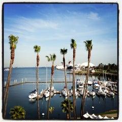 Photo taken at Hotel Maya - a DoubleTree by Hilton Hotel by Steve P. on 4/6/2012