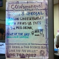 Photo taken at TTU - COWamongus by Trey G. on 5/3/2012