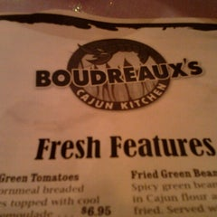Photo taken at Boudreaux's Cajun Kitchen by Rochelle R. on 8/11/2012