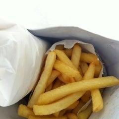 Photo taken at Jim's Famous Quarterpound Burger by David V. on 4/18/2012