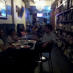 Photo taken at Tezgah Kitapevi Cafe Bar by Tezgah T. on 6/27/2012
