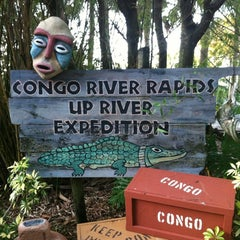 Photo taken at Congo River Rapids by Rosanne S. on 4/7/2012