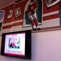 Photo taken at OU Visitor Center by Juicy 1. on 3/13/2012