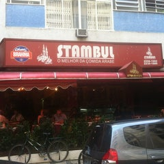 Photo taken at Restaurante Stambul by Aloísio D. on 7/24/2012