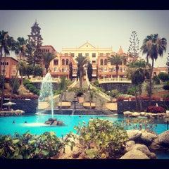 Photo taken at Gran Hotel Bahía del Duque Resort by Kseniya I. on 6/29/2012