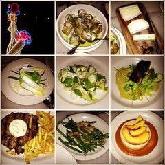 Photo taken at Justine's Brasserie by Emma B. on 9/2/2012