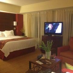 Photo taken at Marriott Residence Inn Waterfront by Lorri E. on 4/16/2012