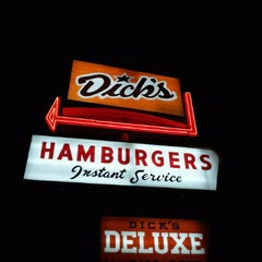 Photo taken at Dick's Drive-In by Paul on 3/6/2012