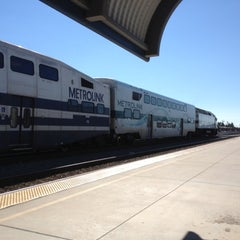 Photo taken at Metrolink Burbank-Bob Hope Airport Station by tutusshaveice T. on 8/27/2012