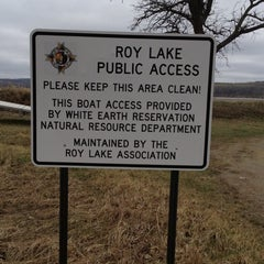 Photo taken at Roy Lake Public Access by Carrie N. on 4/22/2012
