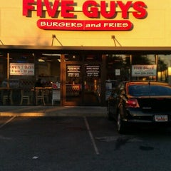 Photo taken at Five Guys by Danny J. on 6/27/2012